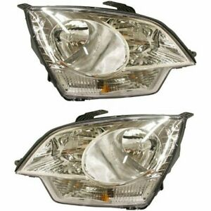 Halogen Headlight Set For 2012 2014 Chevrolet Captiva Sport Left