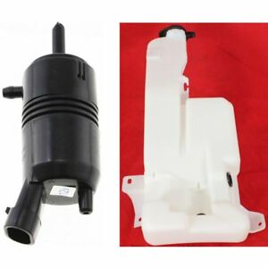 New Kit Windshield Washer Pump Chevy Avalanche Chevrolet Silverado 2500 Hd Yukon