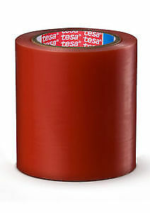Tesa 04848 Pv1 Surface Protection Film W acry Adh 20 x109 Yds Red 4 Rolls