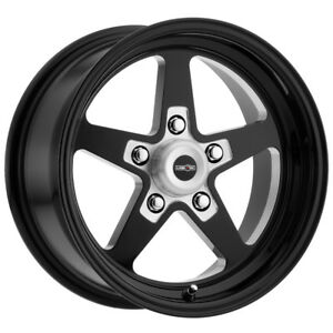 4 15 Inch Vision 571 Sport Star 15x8 5x120 7 5x4 75 27mm Black Wheels Rims