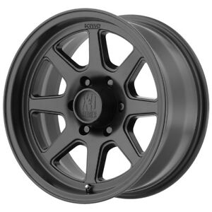 4 new 15 Inch 15x8 Xd301 Turbine 5x114 3 5x4 5 19mm Satin Black Wheels Rims