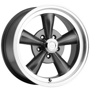 4 15 Inch Vision 141 Legend 5 15x8 5x127 5x5 0mm Gunmetal Wheels Rims