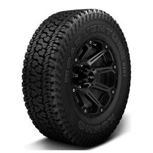 4 New P255 70r17 Kumho Road Venture At51 110t B 4 Ply Bsw Tires
