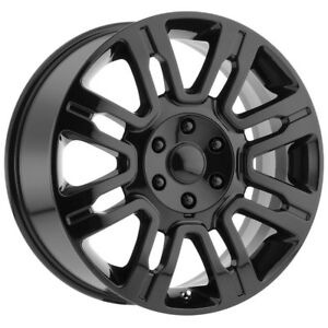 4 20 Inch Replica 167gb Ford Expedition 20x8 5 6x135 44 Gloss Black Wheels Rims