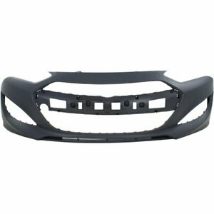 Front Bumper Cover For 2013 2016 Hyundai Genesis Coupe Primed Plastic