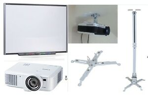 77 Sb680 Smart Board Interactive Whiteboard Hdmi Projector Ceiling Mount