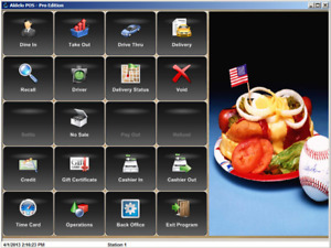 Aldelo Lastest Pro Bar Pizza Restaurant Pos Software Instant Activation Drm
