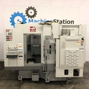 Haas Mdc 500 Mill Drill Tap Vertical Machining Center Dual Pallet Mill