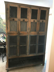 Antique 1800 S Indian Cabinet