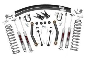 Rough Country 623n2 4 5 Lift Kit For Jeep 84 01 Cherokee Xj 4wd