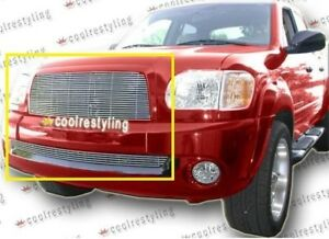 For 2003 2004 2005 2006 Toyota Tundra Billet Grille Grill Combo Inserts Cut Out