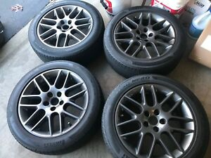 Ford Mustang Club Of America Rims With Tires Quantity 4 Pickup Only As Is