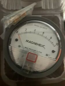 Dwyer Magnehelic 2010 Pressure Switch Water Gage 0 To10 Cat 2010 New Unused