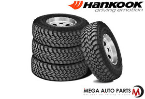 4 X New Hankook Rt03 Dynapro Mt Lt315 70r17 121 118q D 8 Bw Mud Snow Tires