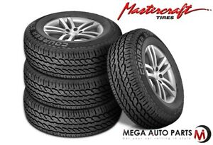 4 Mastercraft Courser Str 255 70r16 Owl M s All Season High Performance Tires