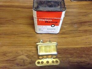 1959 Oldsmobile Generator Output Tailgate Window Relay 1116972 Nos Gm