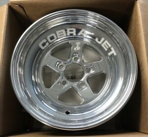 2014 Mustang Cobra Jet Rear Wheels 2 Ford Racing Performance Shelby Gt500 Gt