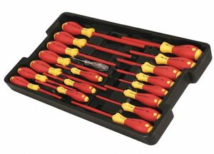 Assorted Insulated Screwdriver Set Multicomponent Number Of Pieces 19