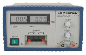 B k Precision Dc Power Supply Triple Output 0 To 30vdc 1670a