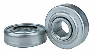 Zinc Plated Steel Hex Conveyor Bearing With 3 066 O d 1 1 16 Bore Dia And