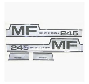 42849 Decal Kit Massey Ferguson 245 Hood