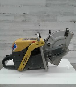 Used Wacker Neuson Model Bts 635s 14 Cutoff Saw Concrete Demo Chop Heavy Duty