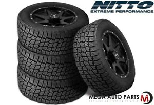 4 X New Nitto Terra Grappler G2 275 55r20 117t Xl All Terrain Radial Tires