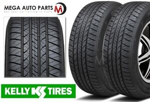 2 New Kelly Edge A S 215 70r15 98t Economical All Season Performance Tires