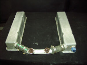 Sbc Small Block Chevy Tall Cast Aluminum Valve Covers Gasser Dirt Track Hotrod