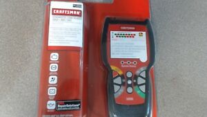 Craftsman Diagnostic Scan Tool Reads And Clears Check Engine Light Obd2 abs srs
