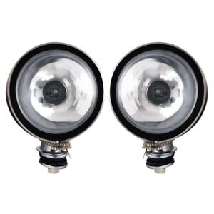 6 Inch Round Driving Light Kit Off Road Pilot Part Nv802cp