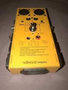 Velleman Vttest15 Audio video Multi Cable Tester 10 Cable Testings
