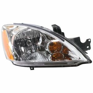 Headlight For 2004 Mitsubishi Lancer Right Wagon With Bulb Halogen Capa