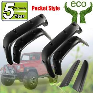 For 2004 2006 Jeep Wrangler Unlimited Lj Fender Flares 10908 07 Oem Replacement