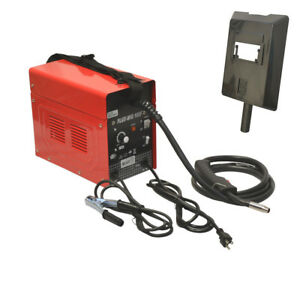 Mig 105 Flux Core Wire Mig Welding Machine 60 90amp Auto Wire Feed Welder No Gas