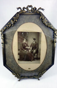 Stunning Huge Antique French Picture Photo Frame Loius Seize Style 19th Century