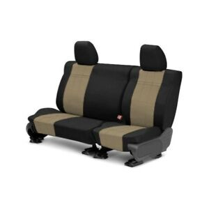For Honda Prelude 92 96 Carbon Fiber 2nd Row Black Beige Custom Seat Covers