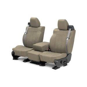 For Ford Escape 01 04 Caltrend Leather 1st Row Beige Custom Seat Covers