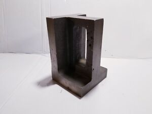 6 Cast Iron Precision Ground 90 Degree Right Angle Plate Machinist Block