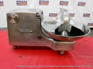 Hobart 84186 Buffalo Food Processing Cutter Chopper 115 Volts