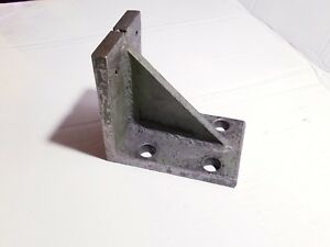 5 Solid Steel Right Angle Plate Machinist Block