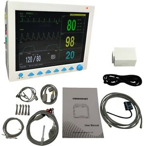 Contec Cms8000 Vet Veterinary Patient Montior 5 Parameter Capnography Module