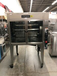 Hardt Inferno 35 Gas Chicken Rotisserie Oven Lp Gas Refurbished