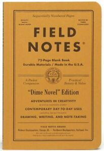 Field Notes Fnc 38 West Coastal Edition Spring 2018 Foil stamped Memo Notebooks