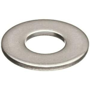 100 Qty 1 4 Stainless Steel Sae Flat Finish Washers bcp669
