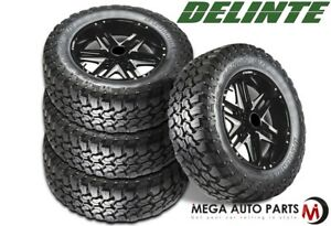 4 New Delinte Bandit Mt Dx9 35x12 50r20lt 121q E 10 Tires