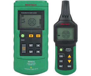 Mastech Ms6818 Advanced Cable Tracker Pipe Locator Detector Network Telephone