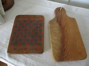 Checkerboard In Red And Green Cutting Board Sweet Little Boards