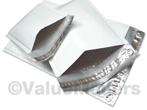 1 Quality Poly 7 25x12 Dvd Bubble Mailers Envelopes Bags 50 100 200 500 1000