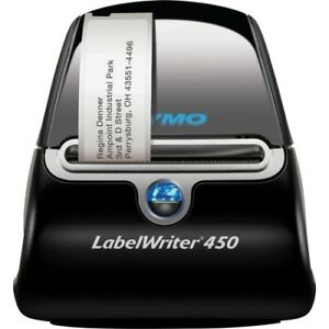 Dymo Labelwriter 450 Direct Thermal Printer Monochrome Label Print